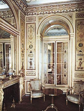 L'hôtel Mégret de Serilly - Le boudoir - Victoria Albert Museum