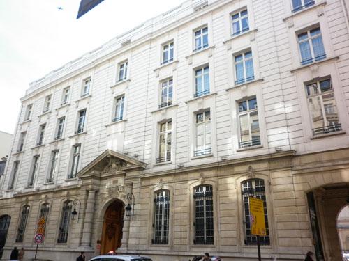 Le cercle du l'Union interalliée - Le bâtiment sur rue