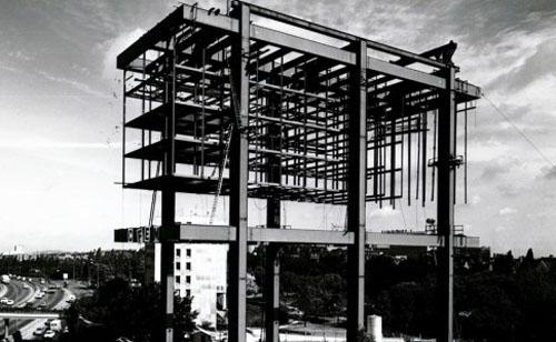 L' ex pavillon de l'Iran - La structure porteuse