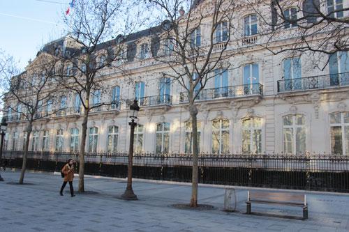 Le siège du groupe Dassault