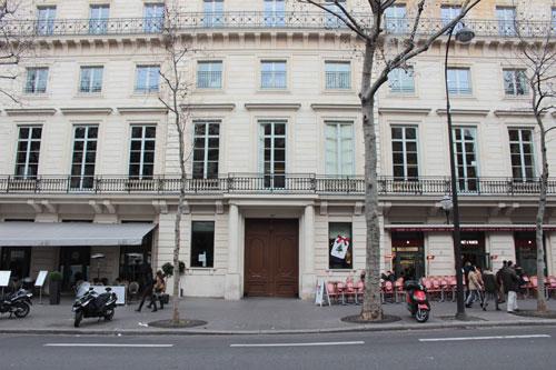 L'hôtel de Mercy-Argenteau - La façade sur le boulevard