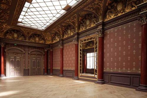 L'hôtel de Mercy-Argenteau - La salle des Fêtes