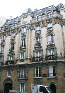 Immeuble de logements, rue Eugène Manuel