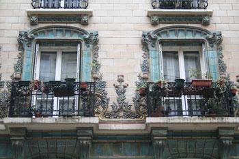 Immeuble de logements, rue Eugène Manuel - Fenêtres