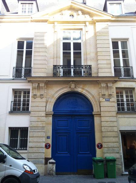 L'hôtel Mégret de Serilly - Le portail