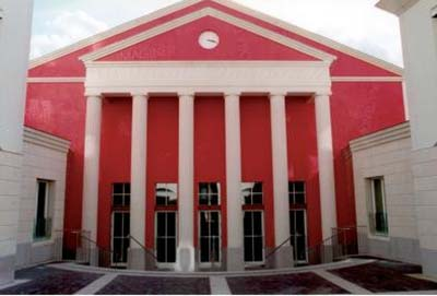 Le théâtre des Abbesses - La façade