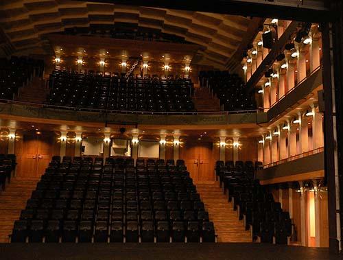 Le théâtre des Abbesses - La salle