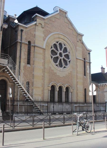 La synagogue Chasseloup-Laubat