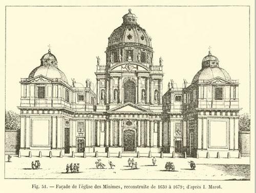 Le couvent des Minimes - La façade