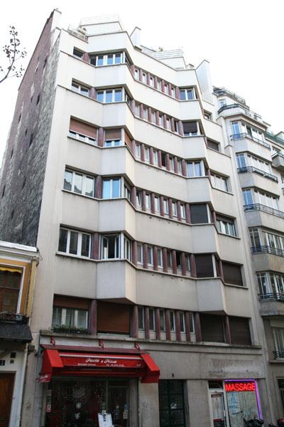 Immeuble d'habitation rue Mansart