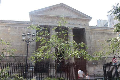 L'église Notre-Dame de Bonne-Nouvelle - La façade