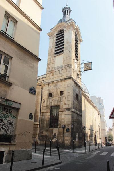 L'église Notre-Dame de Bonne-Nouvelle - Le clocher datant du XVIIe siècle