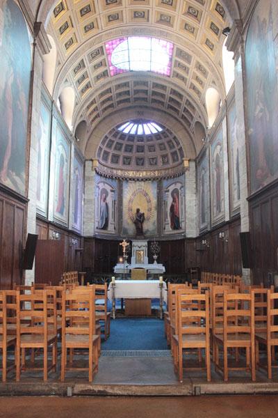 L'église Notre-Dame de Bonne-Nouvelle - La chapelle Notre-Dame de la Consolation ou chapelle de la Vierge