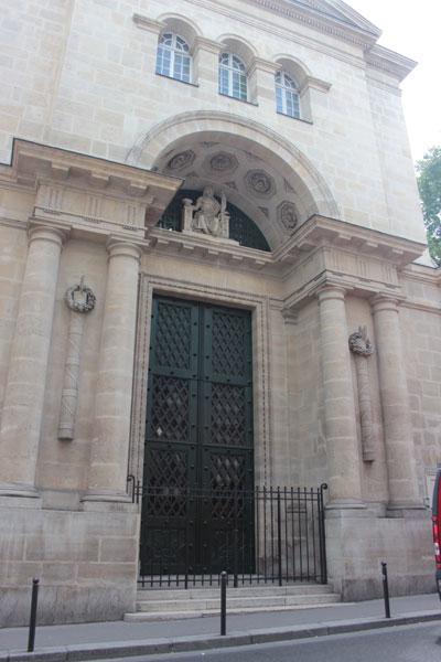 La cathédrale Saint-Vladimir - La façade
