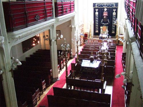 La synagogue de la rue Pavée - La nef