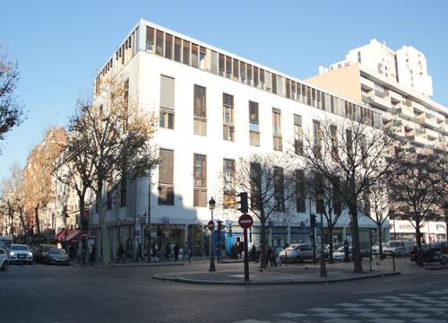 Logements et ateliers d'artistes rue de Flandres