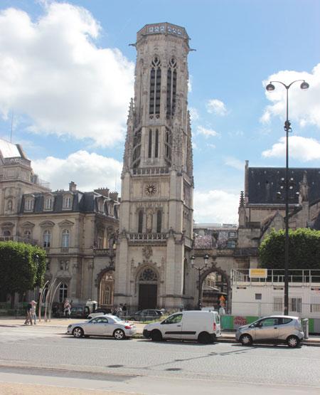 Le beffroy de Saint-Germain-L'Auxerrois
