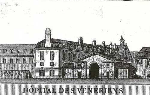 L'ancien noviciat des Capucins devenu l'hôpital des vénériens