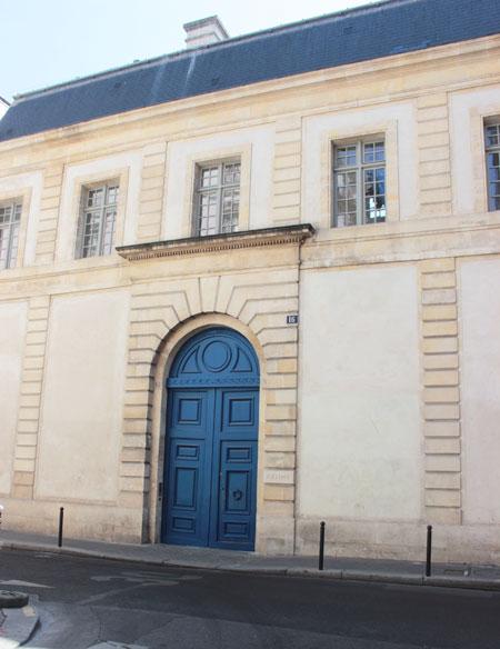 L'hôtel Colbert de Torcy - La façade sur rue
