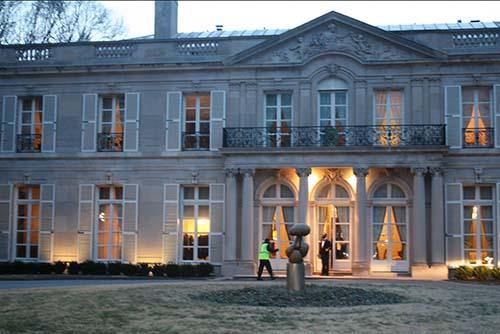 L'hôtel de Rothelin-Charolais - Façade sur le jardin
