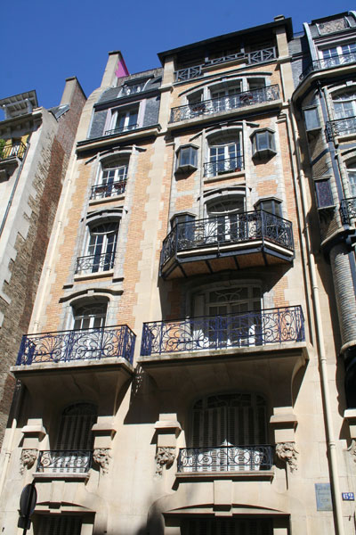 Immeuble d'habitation 64 rue Boursault
