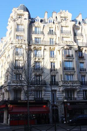 Immeuble d'habitation, place Etienne Pernet