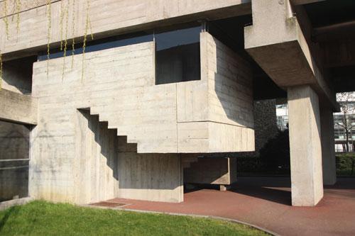 La maison du Brésil - L'escalier