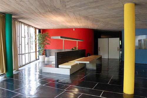 Le pavillon du Brésil - Espace collectif