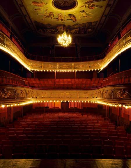 Le théâtre Dejazet - La salle
