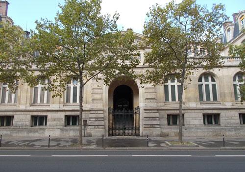 L'école des Mines - Façade sur le boulevard Saint-Michel
