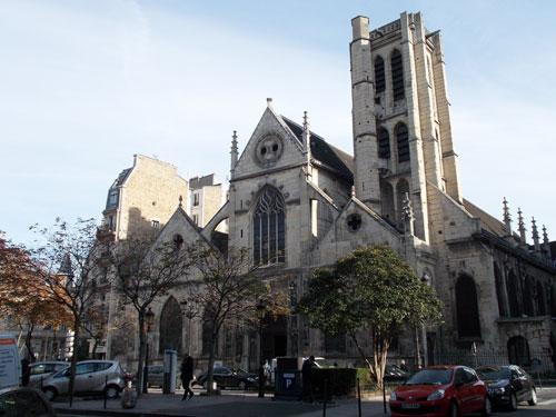 L'église Saint-Nicolas des Champs - La façade