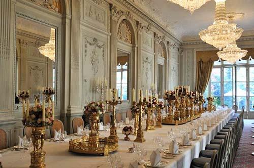 L'hôtel de Béthune-Charost - La salle à manger