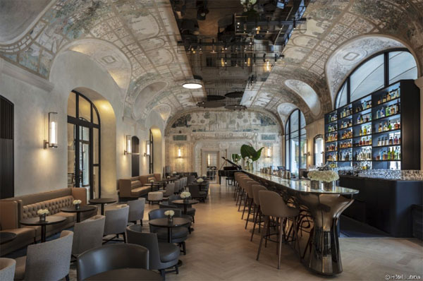 L'hôtel Lutetia : le bar Joséphine