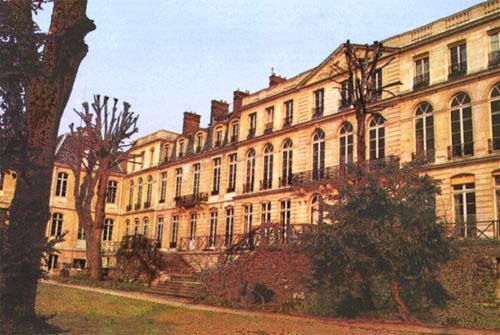 L'hôtel de Vendôme - Façade sur le jardin du Luxembourg