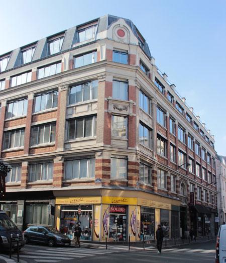 Immeuble industriel rue de Charonne
