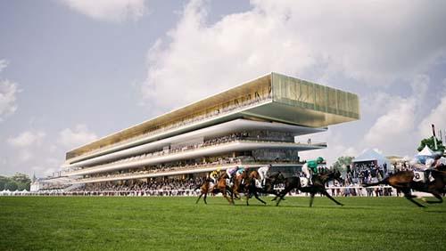 L'hippodrome de Longchamps - La nouvelle tribune