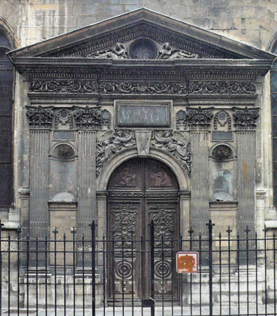 L'église Saint-Nicolas des Champs - Le portail Sud