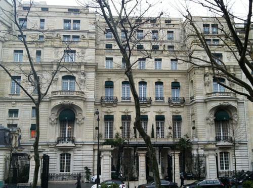 L'hôtel Shangri-La - La façade