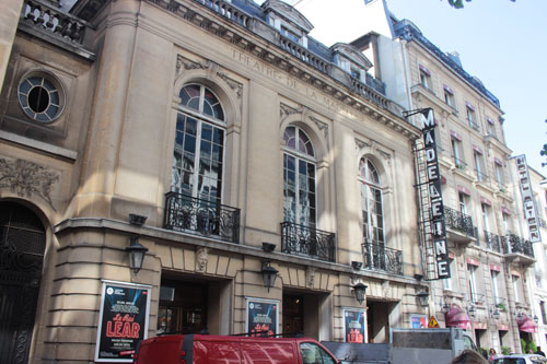 Le théâtre de la Madeleine - La façade