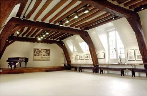L'hôtel de Bretteville - L'atelier de Picasso dans le grenier