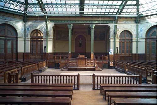 La Bourse du Travail - La salle Eugène Varlin