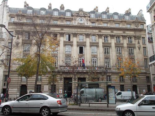 La Bourse du Travail - La façade sur rue