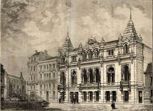 L'ancien Eden-Théâtre - Une façade ressemblant à une pagode indienne