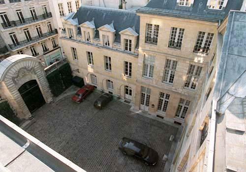L'hôtel de Cavoye - Cour d'honneur