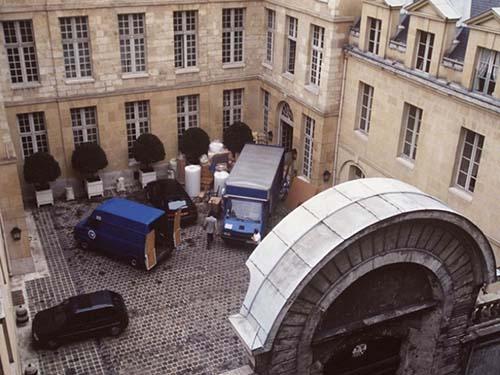 L'hôtel de Cavoye - La cour d'honneur
