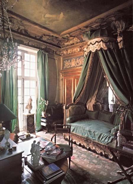 L'hôtel Mansart de Sagonne - Une chambre décorée par Jacques Garcia
