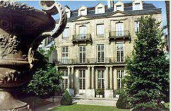L'hôtel Mansart de Sagonne - Façade sur le jardin