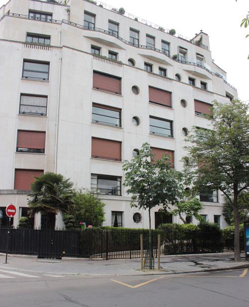 façade avenue Henri Martin