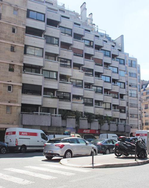 Immeuble d'habitation Rue de Lourmel