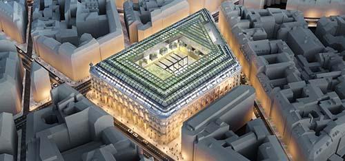 La Poste du Louvre - Le futur îlot